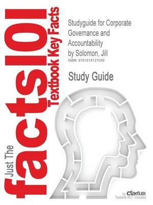 Outlines & Highlights for Corporate Governance and Accountability by Jill Solomon