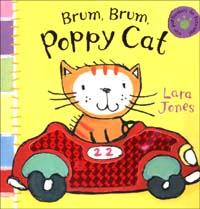 Brum, brum Poppy Cat