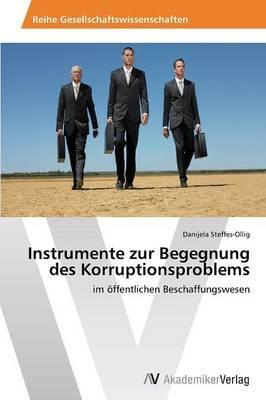 Instrumente zur Begegnung des Korruptionsproblems