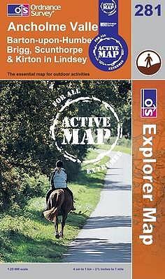 Ancholme Valley (OS Explorer Map Active)