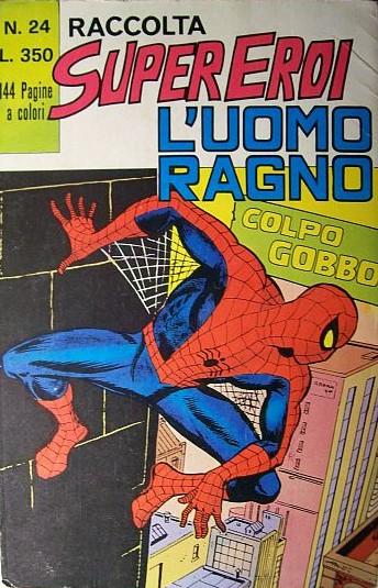Raccolta Super Eroi Uomo Ragno n.24