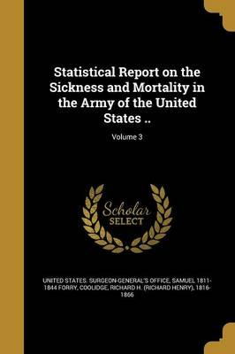 STATISTICAL REPORT ON THE SICK