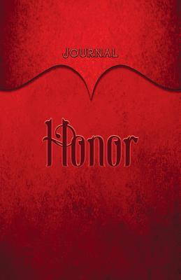 Honor Journal Red