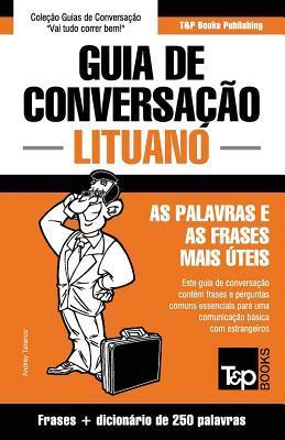 Guia de Conversação Português-Lituano e mini dicionário 250 palavras