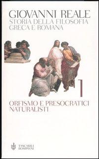 Storia della filosofia greca e romana - vol. 1