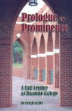Prologue to Prominence