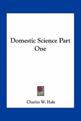 Domestic Science Part One