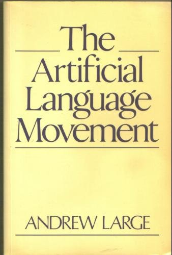 The Artificial Language Movement