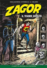 Zagor collezione storica a colori n. 122
