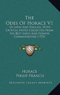 The Odes of Horace V1