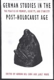 German Studies in the Post-Holocaust Age