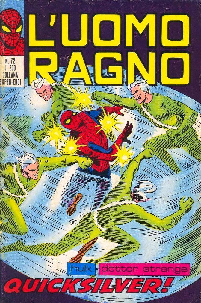 L'Uomo Ragno n. 72