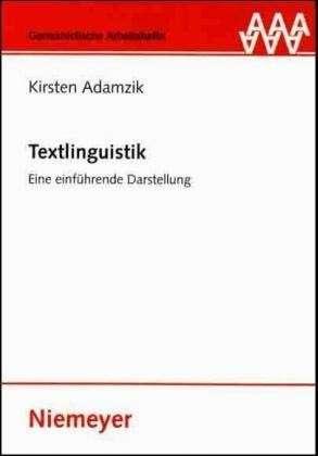 Textlinguistik.