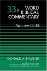 Word Biblical Commentary Vol. 33b, Matthew 14-28