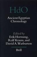 Ancient Egyptian chronology