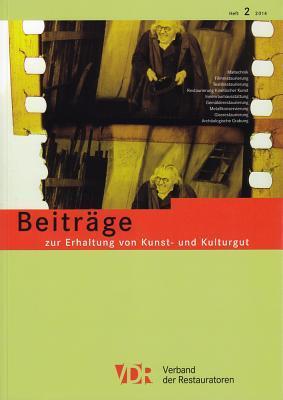 Vdr-beitrage Zur Erhaltung Von Kunst- Und Kulturgut 2014