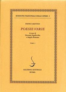 Poesie varie. Vol. 1