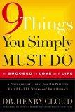 Nine Things You Simply Must Do