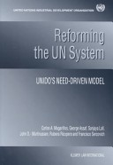 Reforming the UN system