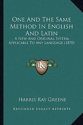 One and the Same Method in English and Latin
