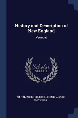History and Description of New England