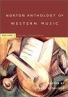 The Norton Anthology of Western Music, Fourth Edition, Volume 1