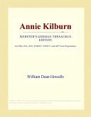 Annie Kilburn (Webst...