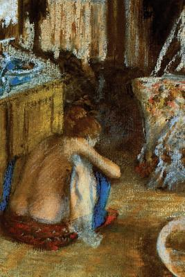Woman Squatting by Edgar Degas Blank/Lined Journal
