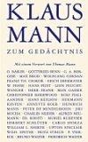 Klaus Mann zum Gedächtnis.