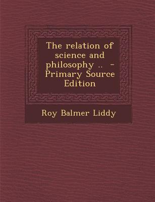 Relation of Science and Philosophy