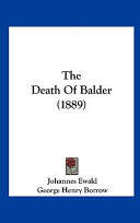 The Death of Balder (1889)