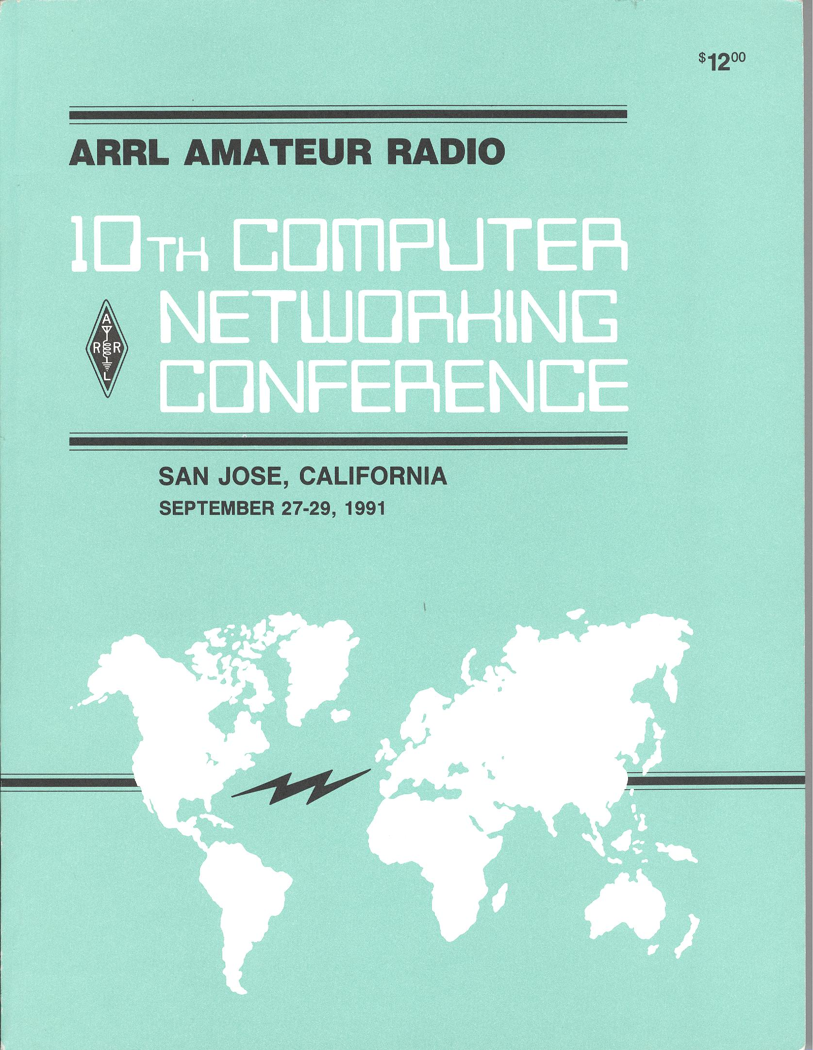 ARRL Amateur Radio 10th Computer Networking Conference