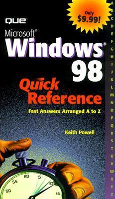 Microsoft Windows 98 Quick Reference