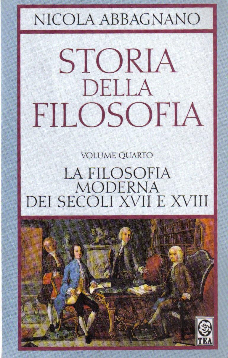 Storia della filosofia - vol. 4