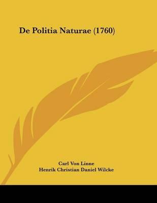 de Politia Naturae (1760)
