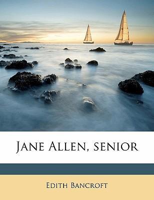 Jane Allen, Senior