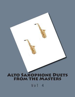Alto Saxophone Duets from the Masters