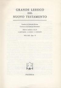 Grande lessico del Nuovo Testamento