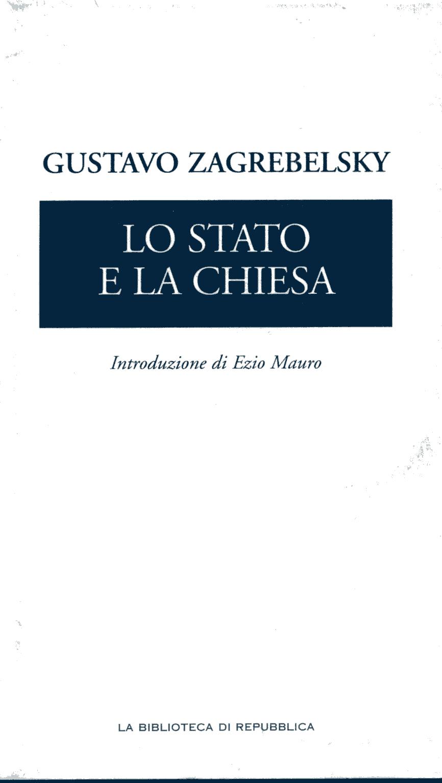 Lo Stato e la Chiesa