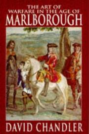 The art of warfare in the age of Marlborough