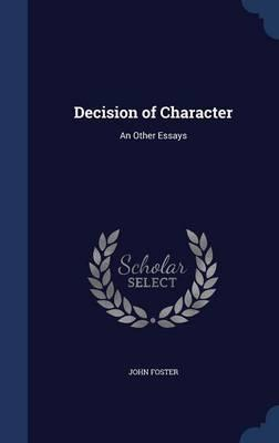 Decision of Character