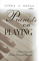 Pianists on playing