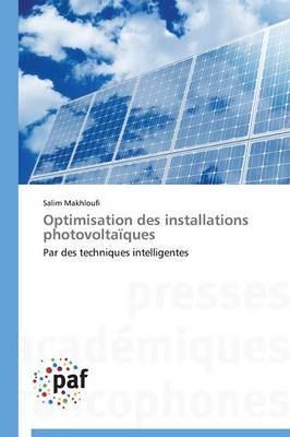Optimisation des Installations Photovoltaiques