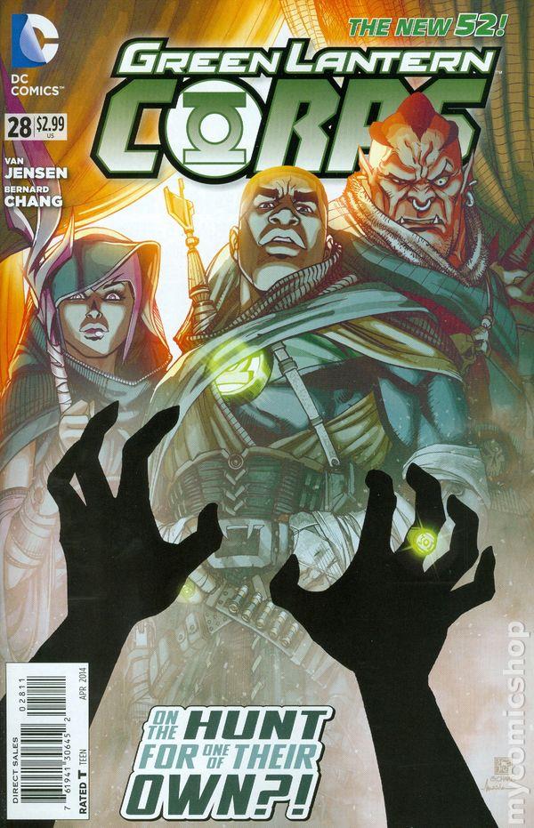 Green Lantern Corps Vol.3 #28