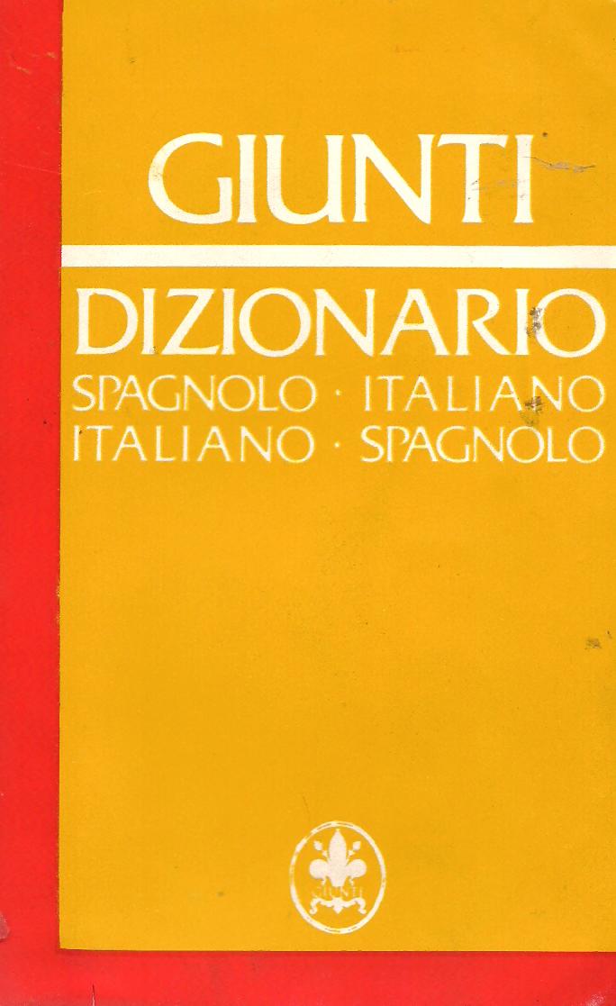 Dizionario spagnolo-italiano, italiano-spagnolo