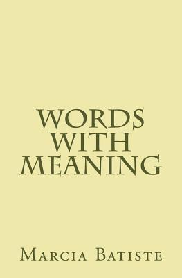 Words With Meaning
