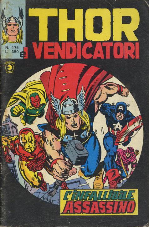 Thor e i Vendicatori (Il Mitico Thor) n. 175