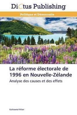 La Reforme Electorale de 1996 en Nouvelle-Zelande