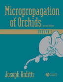 Micropropagation of Orchids, 2 Volume Set