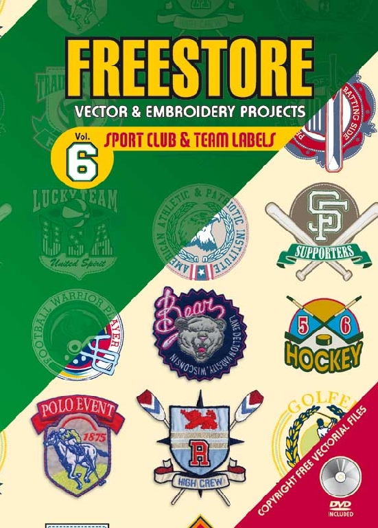 Freestore: Vector & Embroidery Projects - Vol. 6